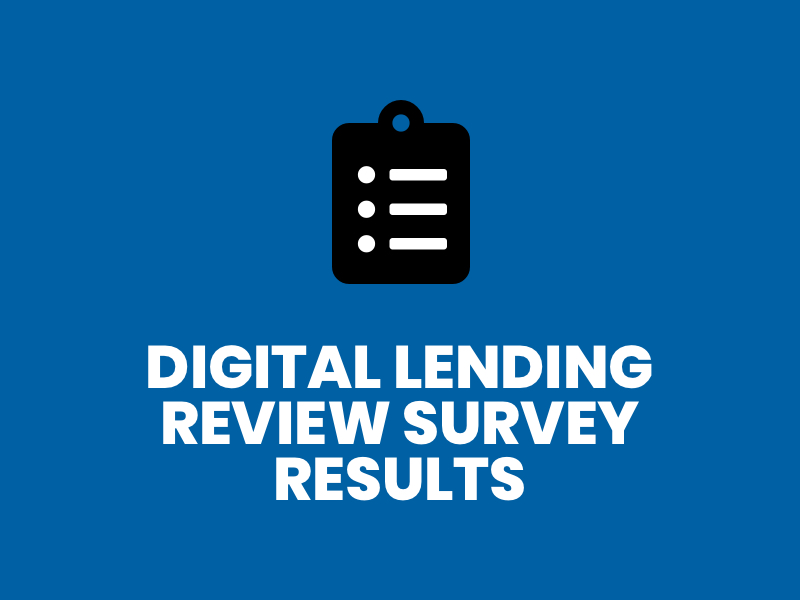 Blue-Digital Lending Survey