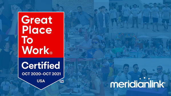 MeridianLink is named a Great Place to Work