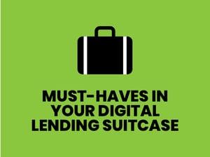 Must Haves Digital Lending Suitcase