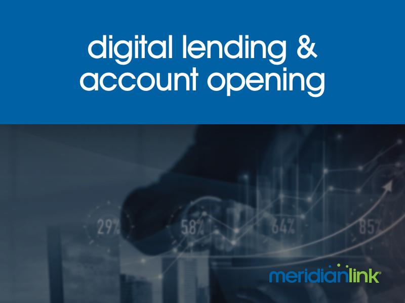 digital lending account opening