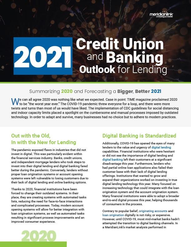 2021-CreditUnion-Banking-Lending
