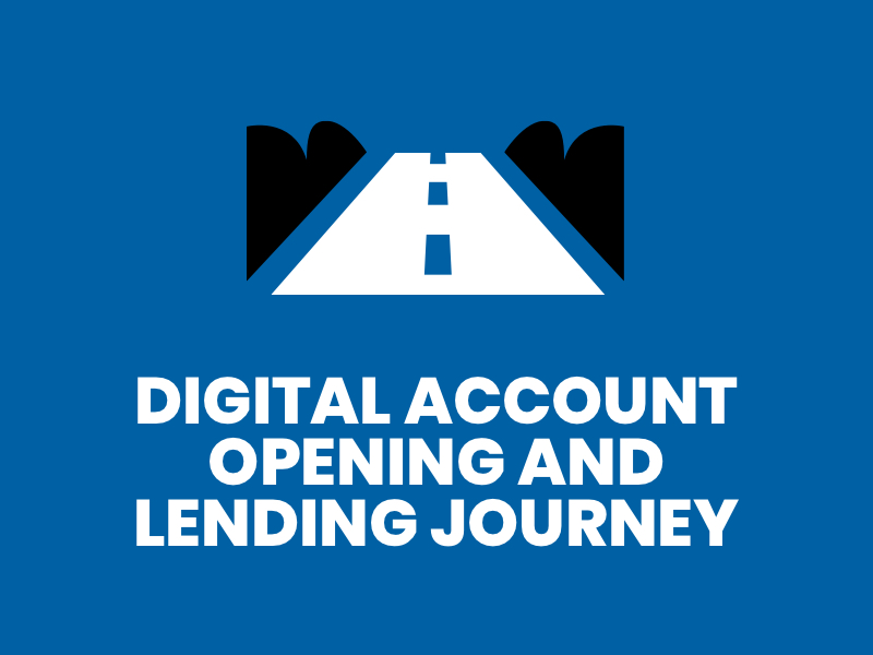Blue-Digital Account Opening Lending Journey
